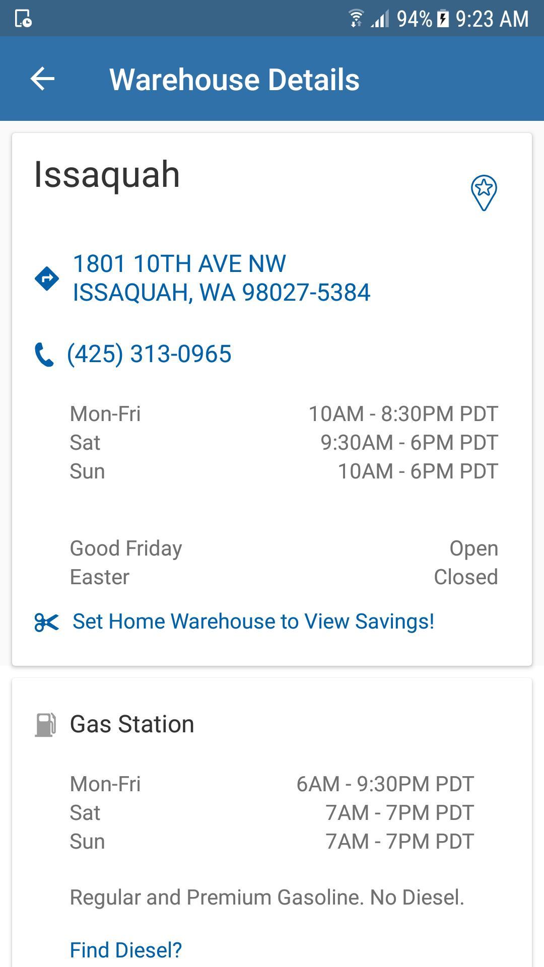Costco Wholesale 4.3.2 Screenshot 6
