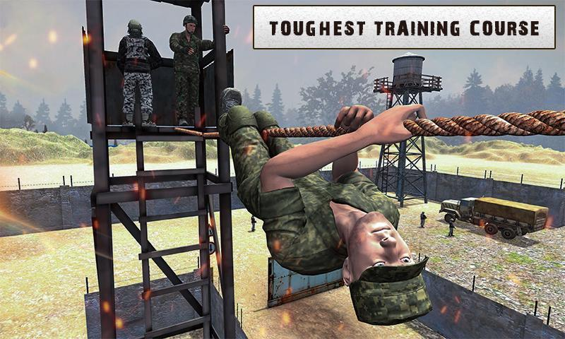 Army Training 3D: Obstacle Course + Shooting Range 1.0.2 Screenshot 1