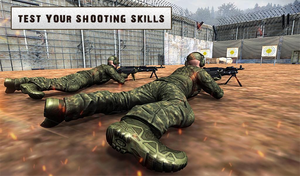 Army Training 3D: Obstacle Course + Shooting Range 1.0.2 Screenshot 10