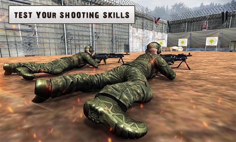 Army Training 3D: Obstacle Course + Shooting Range 1.0.2 Screenshot 2