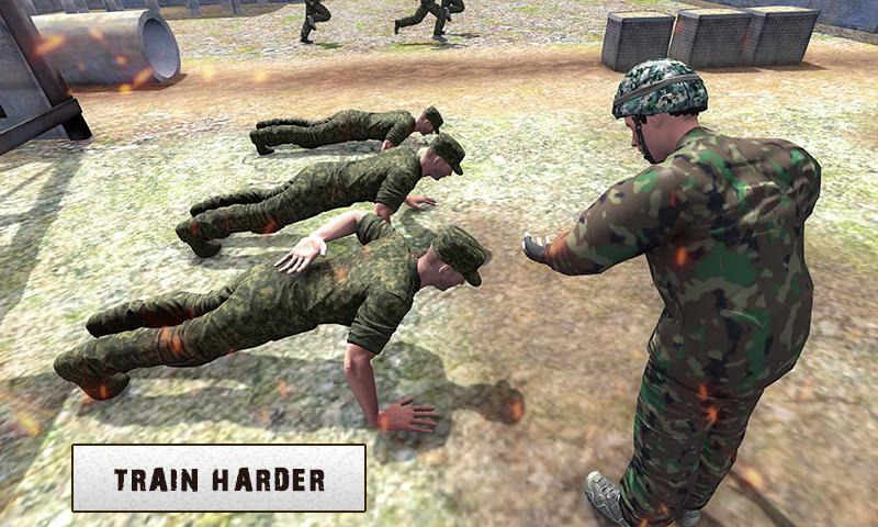 Army Training 3D: Obstacle Course + Shooting Range 1.0.2 Screenshot 3