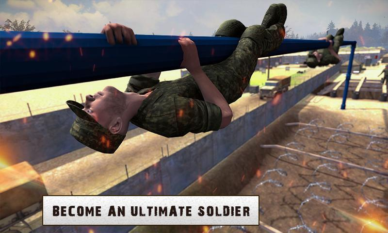 Army Training 3D: Obstacle Course + Shooting Range 1.0.2 Screenshot 4