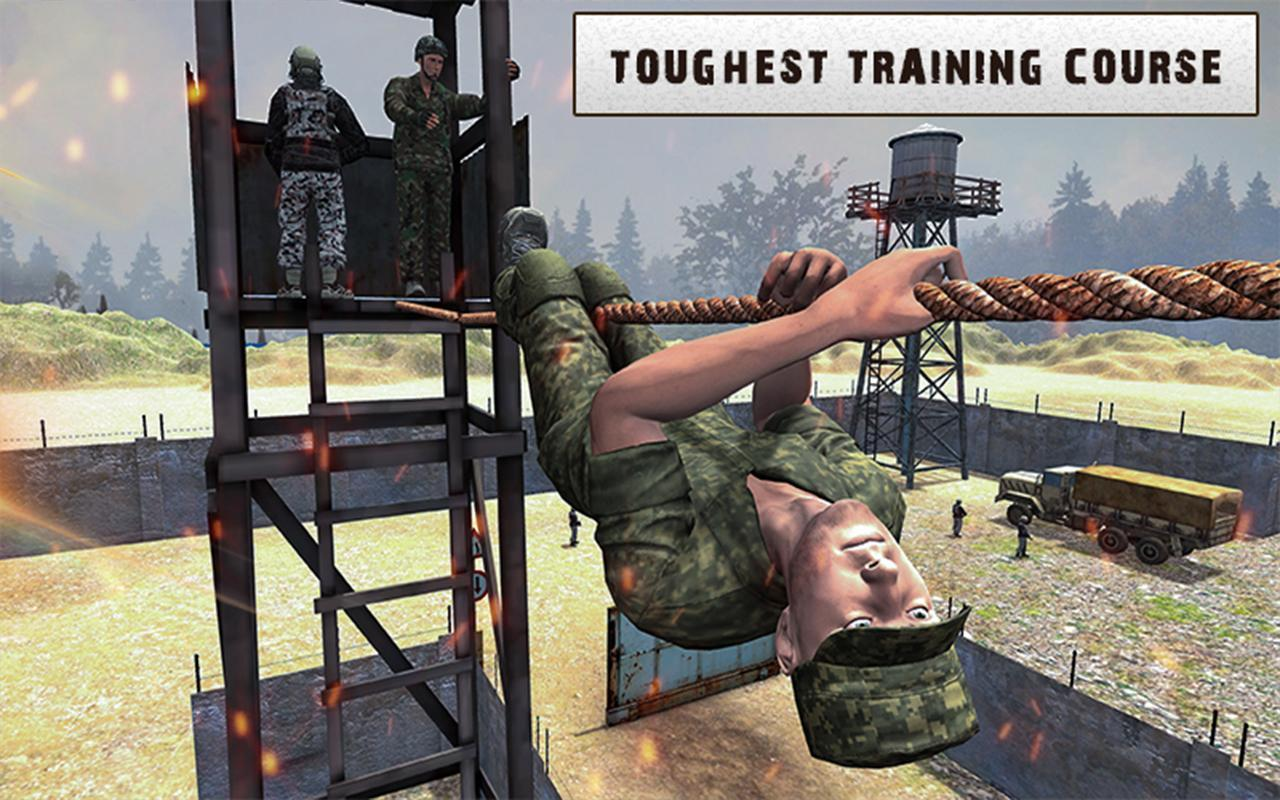 Army Training 3D: Obstacle Course + Shooting Range 1.0.2 Screenshot 5