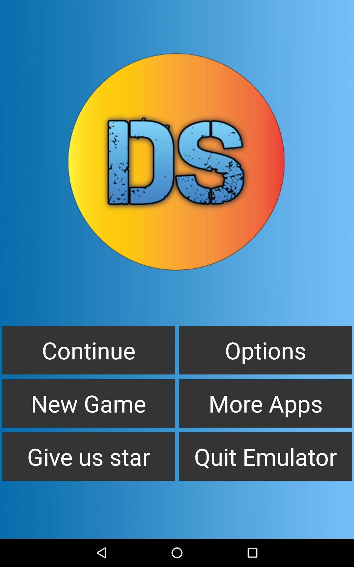 Free DS Emulator - For Android pb1.0.3 Screenshot 1