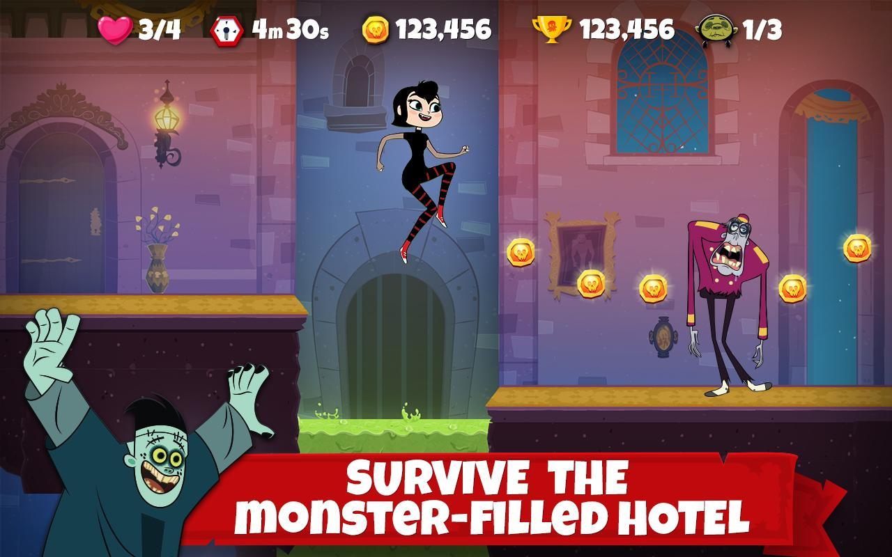 Hotel Transylvania Adventures - Run, Jump, Build! 1.4.0 Screenshot 1