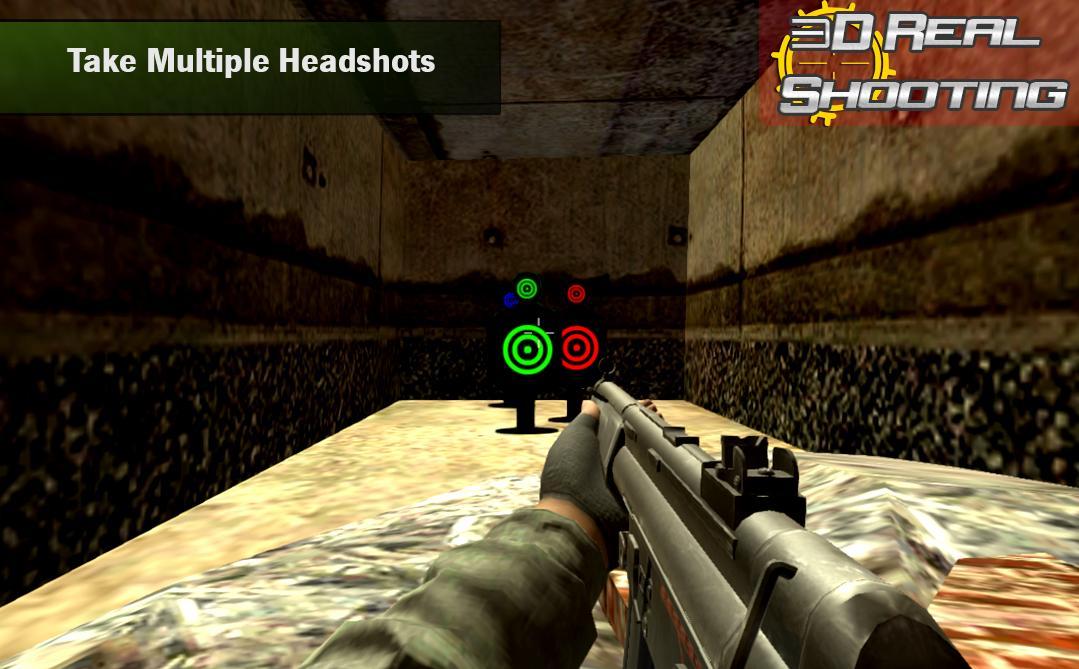 Real Gun Shooting Practice Shooting Range 1.0 Screenshot 1