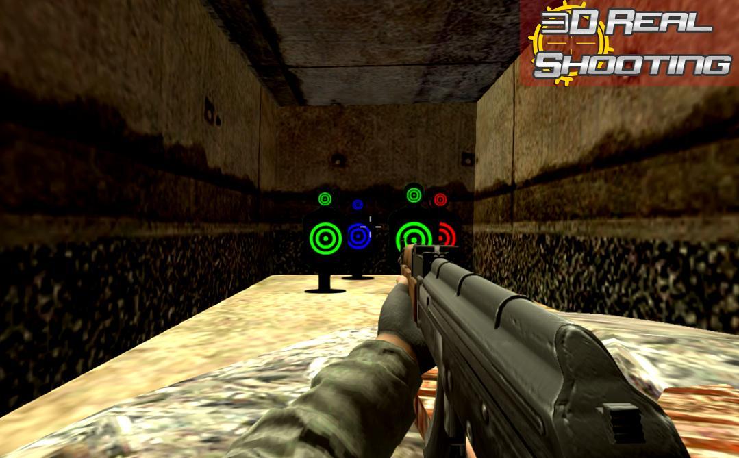 Real Gun Shooting Practice Shooting Range 1.0 Screenshot 2
