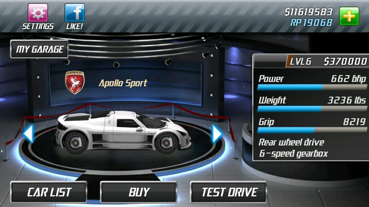 Drag Racing 1.8.2 Screenshot 11