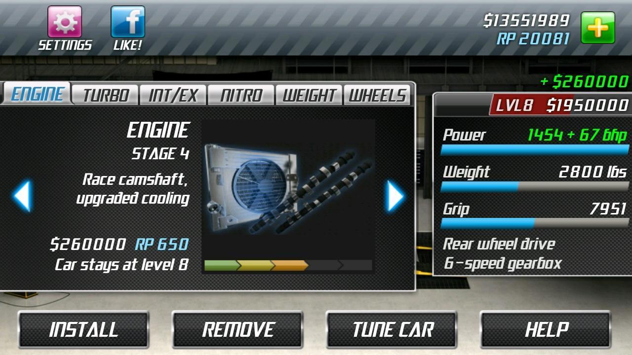 Drag Racing 1.8.2 Screenshot 9