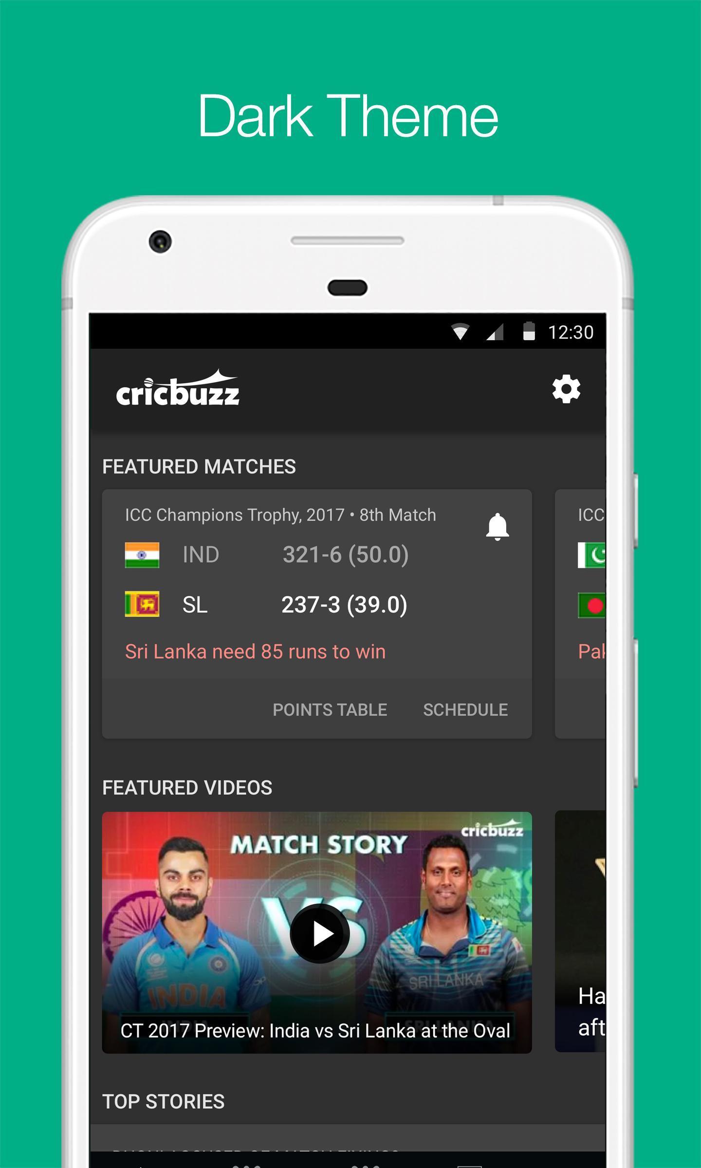 Cricbuzz Live Cricket Scores & News 4.8.003 Screenshot 2