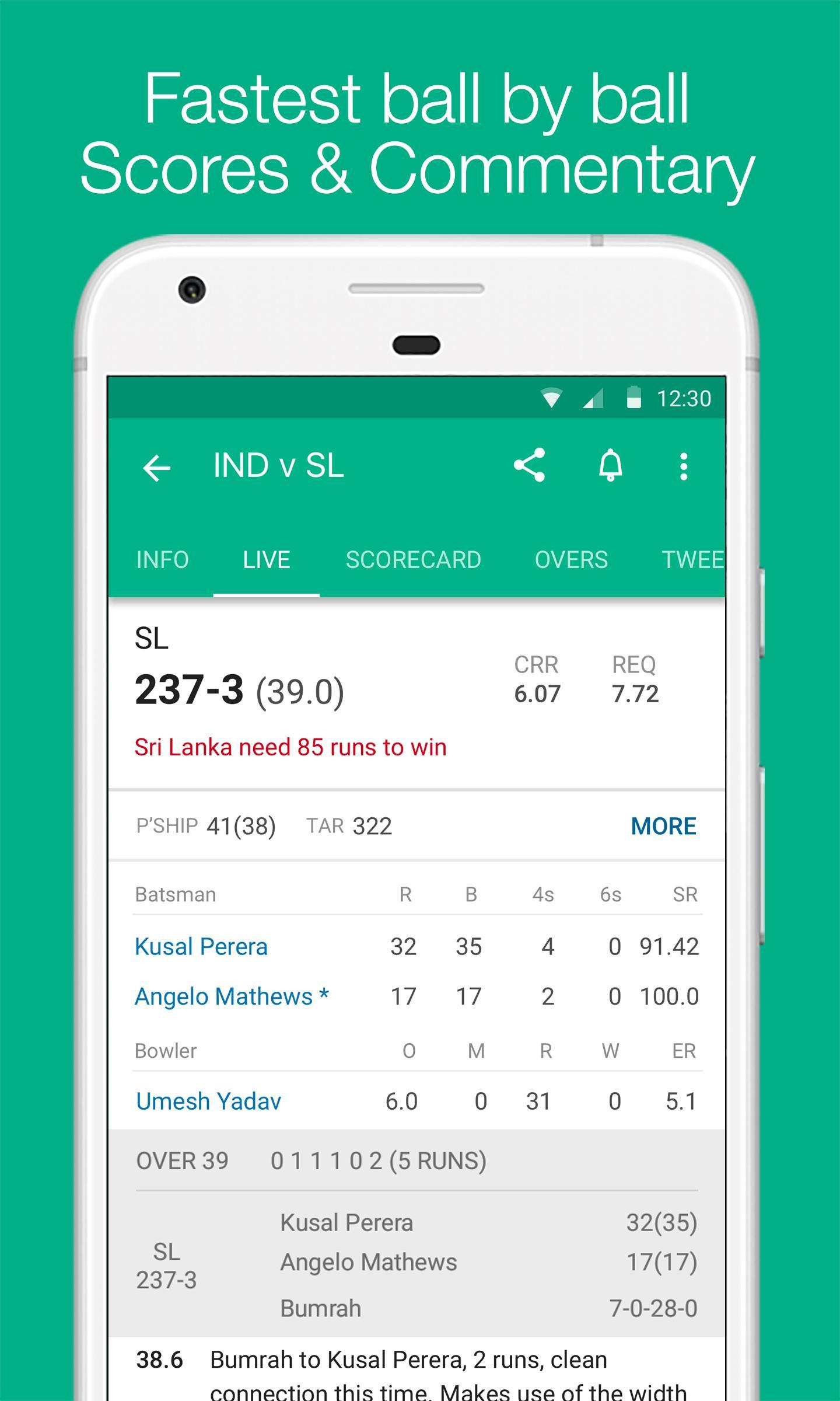 Cricbuzz Live Cricket Scores & News 4.8.003 Screenshot 3