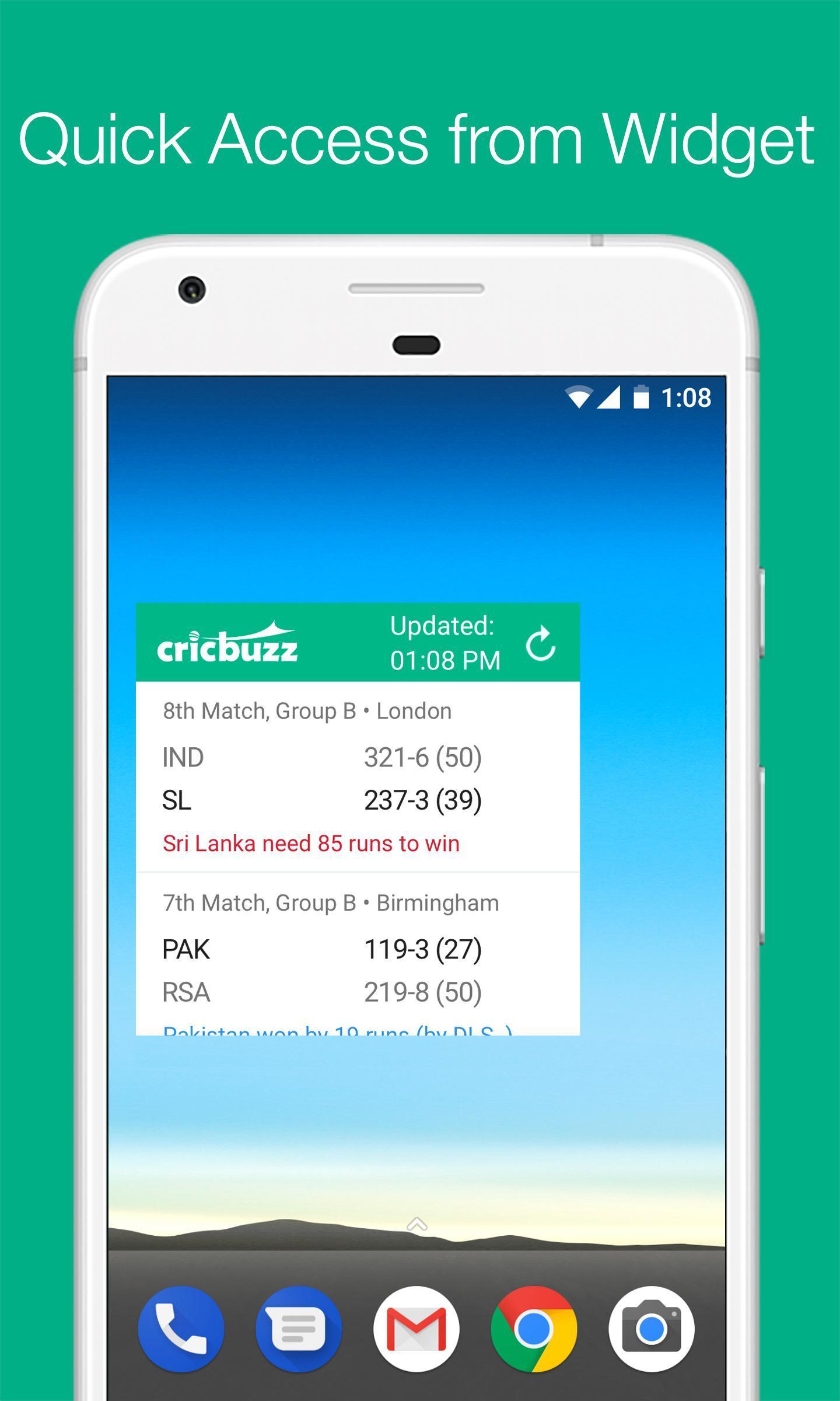 Cricbuzz Live Cricket Scores & News 4.8.003 Screenshot 5