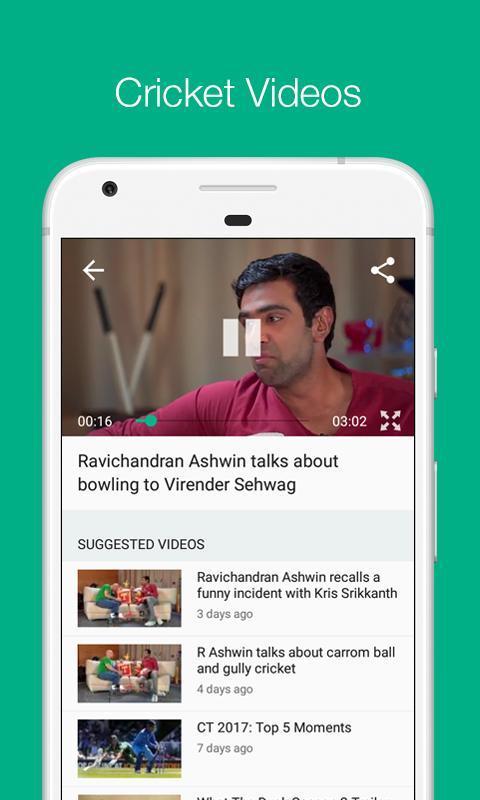 Cricbuzz Live Cricket Scores & News 4.8.003 Screenshot 7