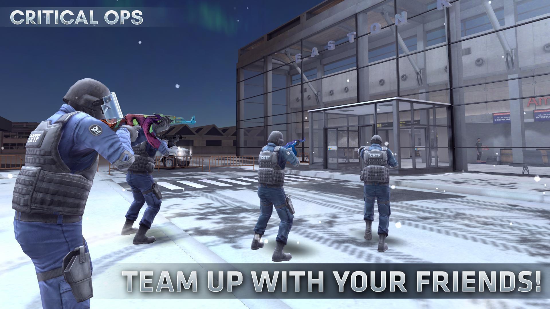 Critical Ops Multiplayer FPS 1.21.0.f1253 Screenshot 1