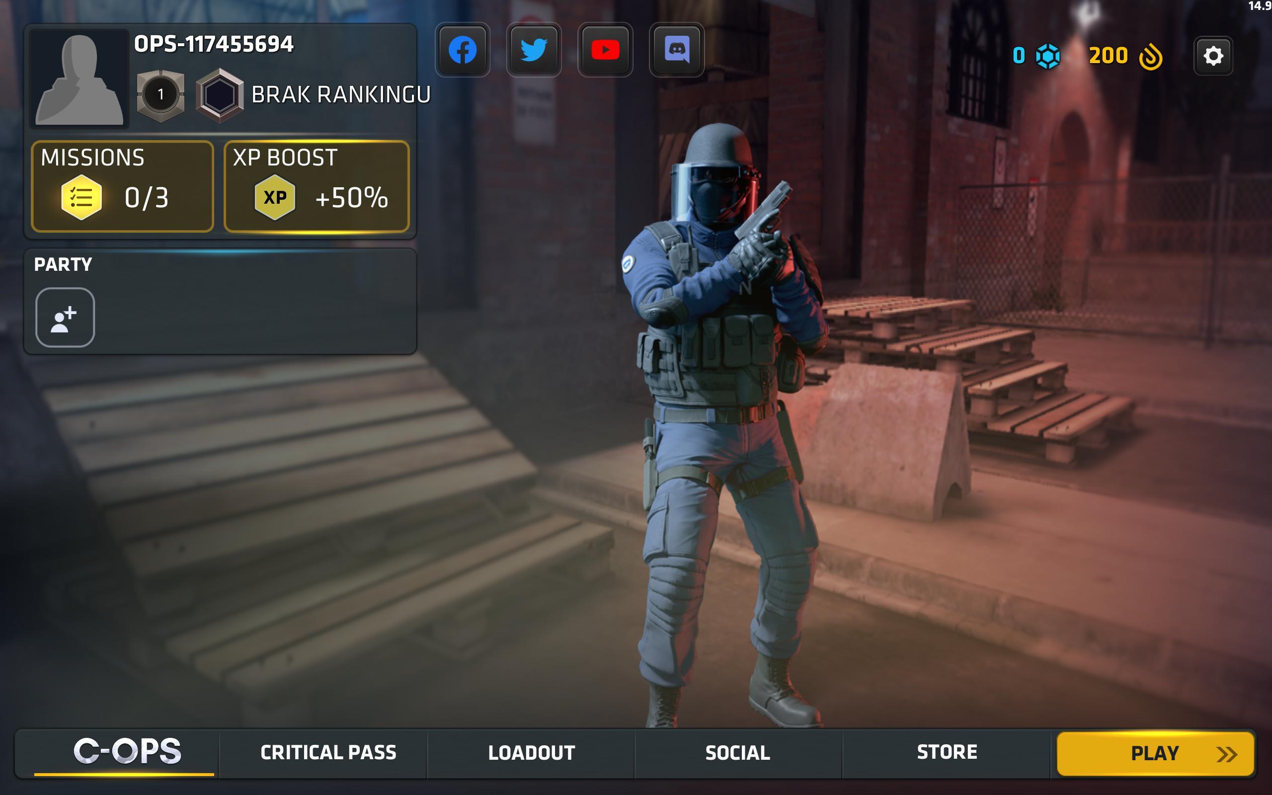 Critical Ops Multiplayer FPS 1.21.0.f1253 Screenshot 14