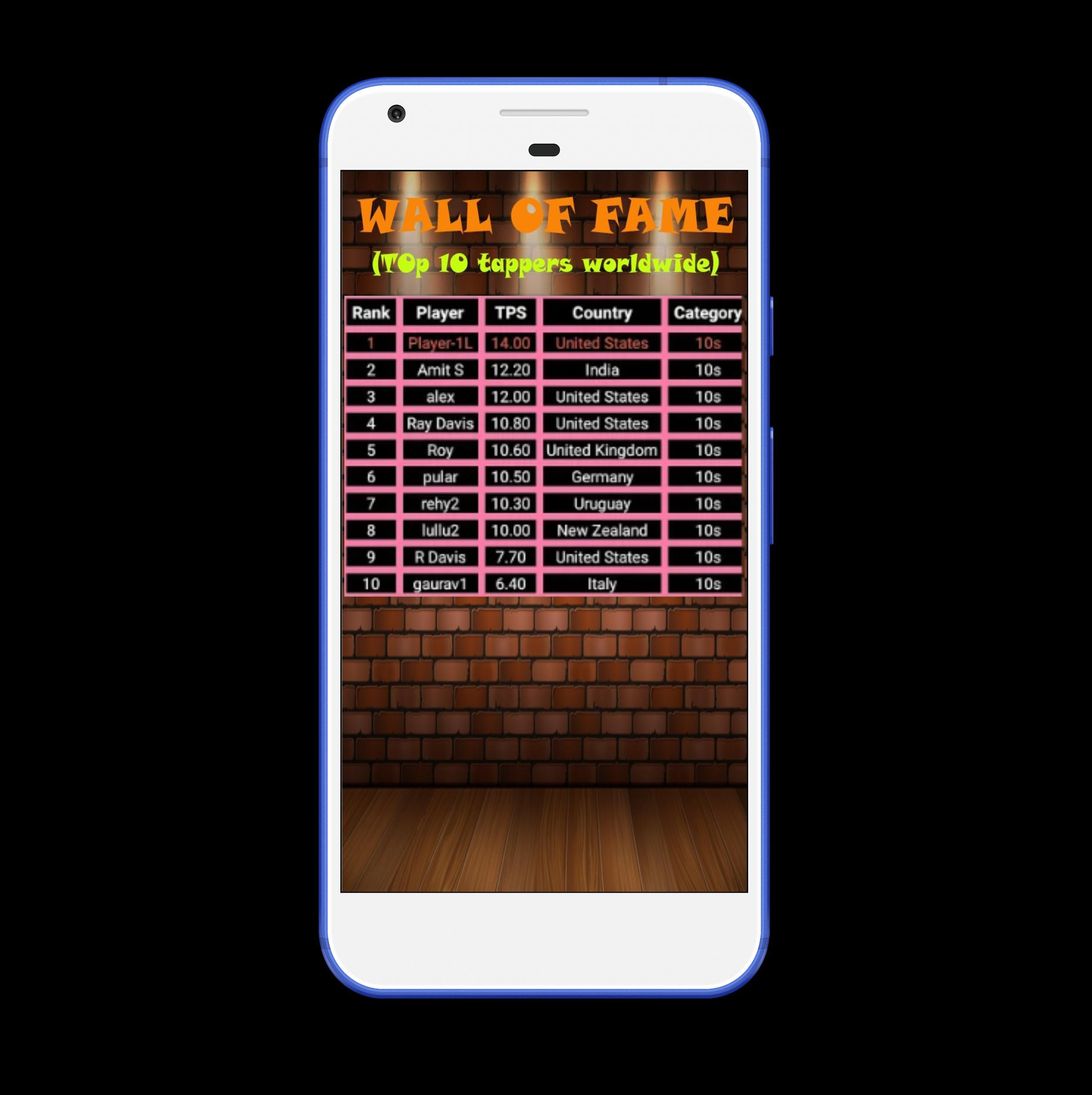 Tap Per Second 1.24 Screenshot 4