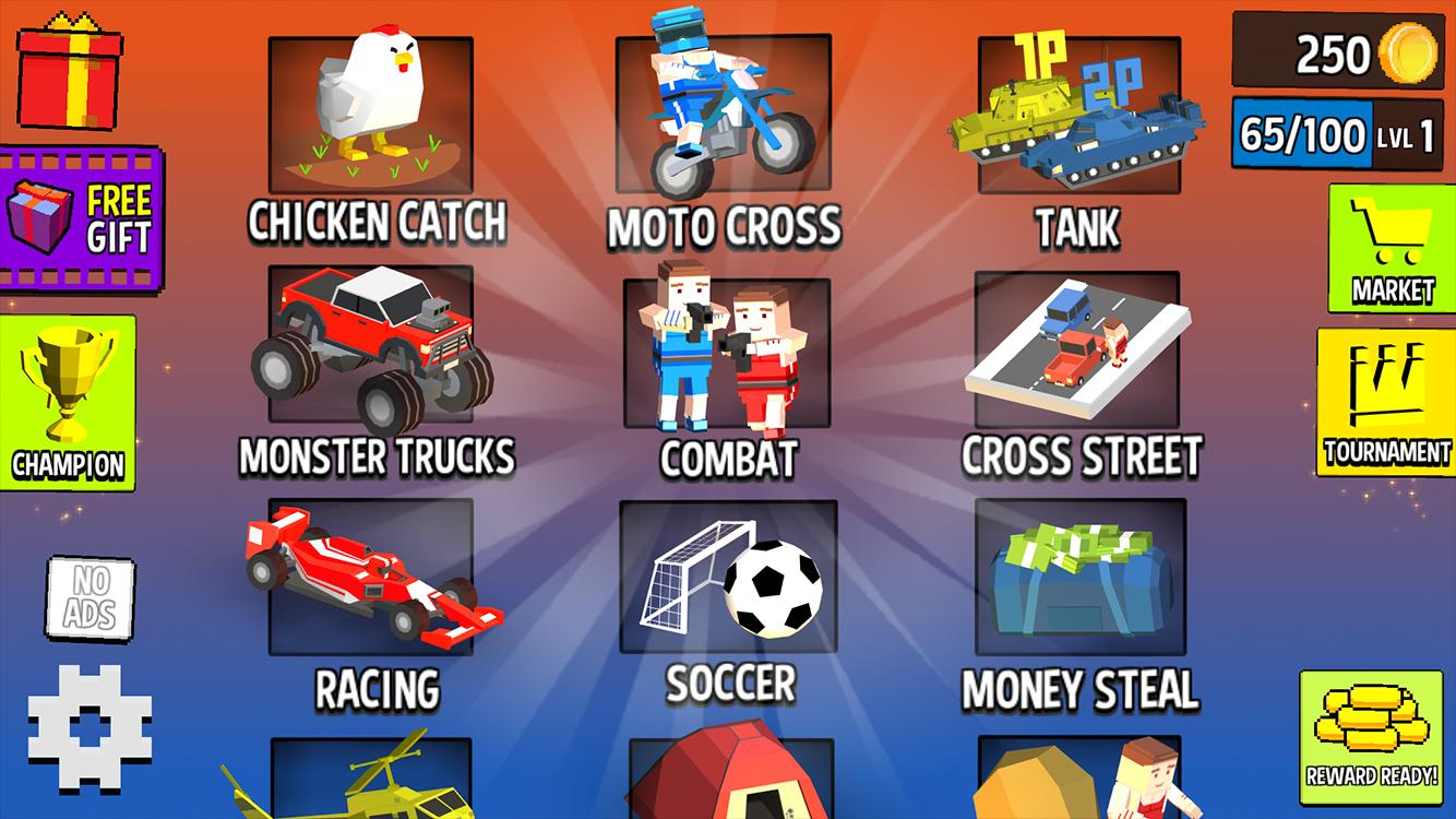 Cubic 2 3 4 Player Games 1.9.9.9 Screenshot 1