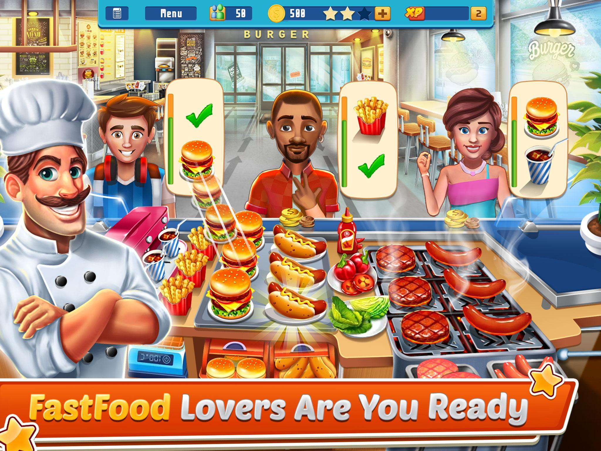 Chef's Life : Crazy Restaurant Kitchen 5.7 Screenshot 10