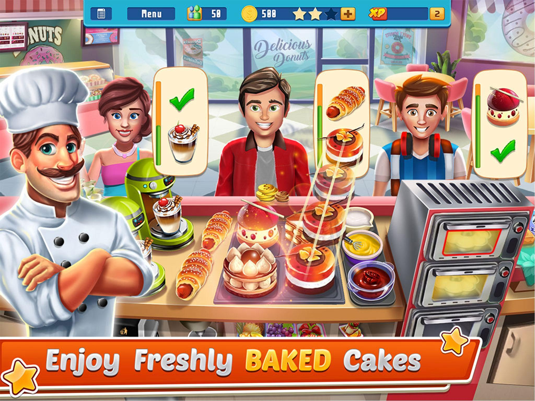 Chef's Life : Crazy Restaurant Kitchen 5.7 Screenshot 12