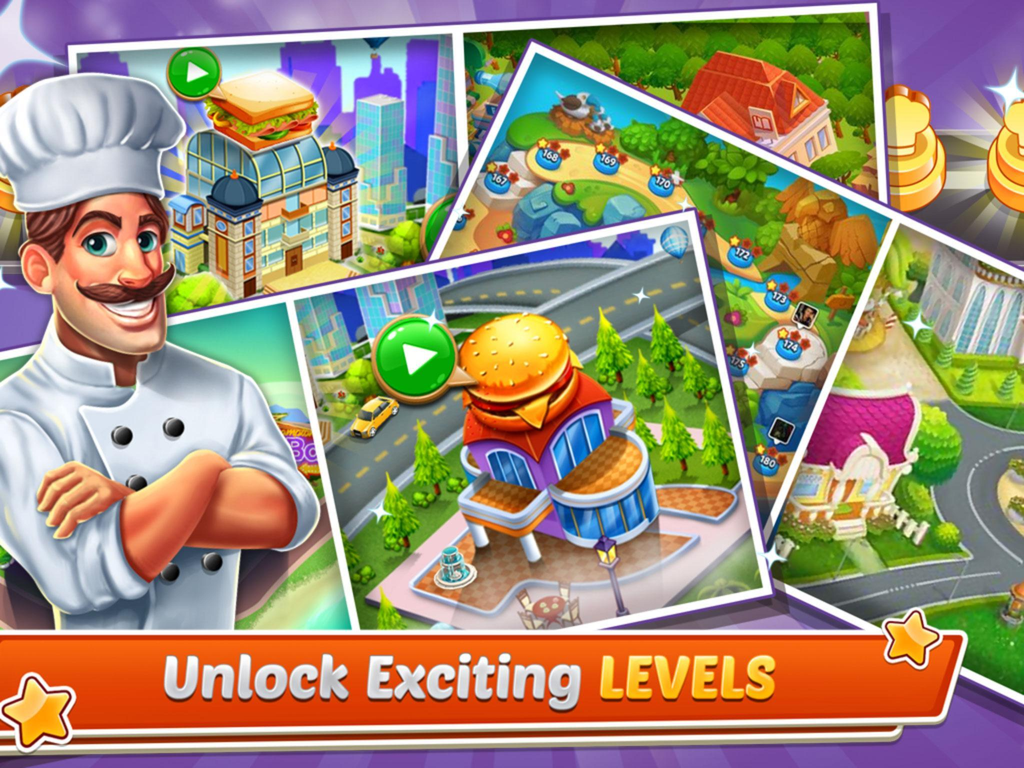 Chef's Life : Crazy Restaurant Kitchen 5.7 Screenshot 13