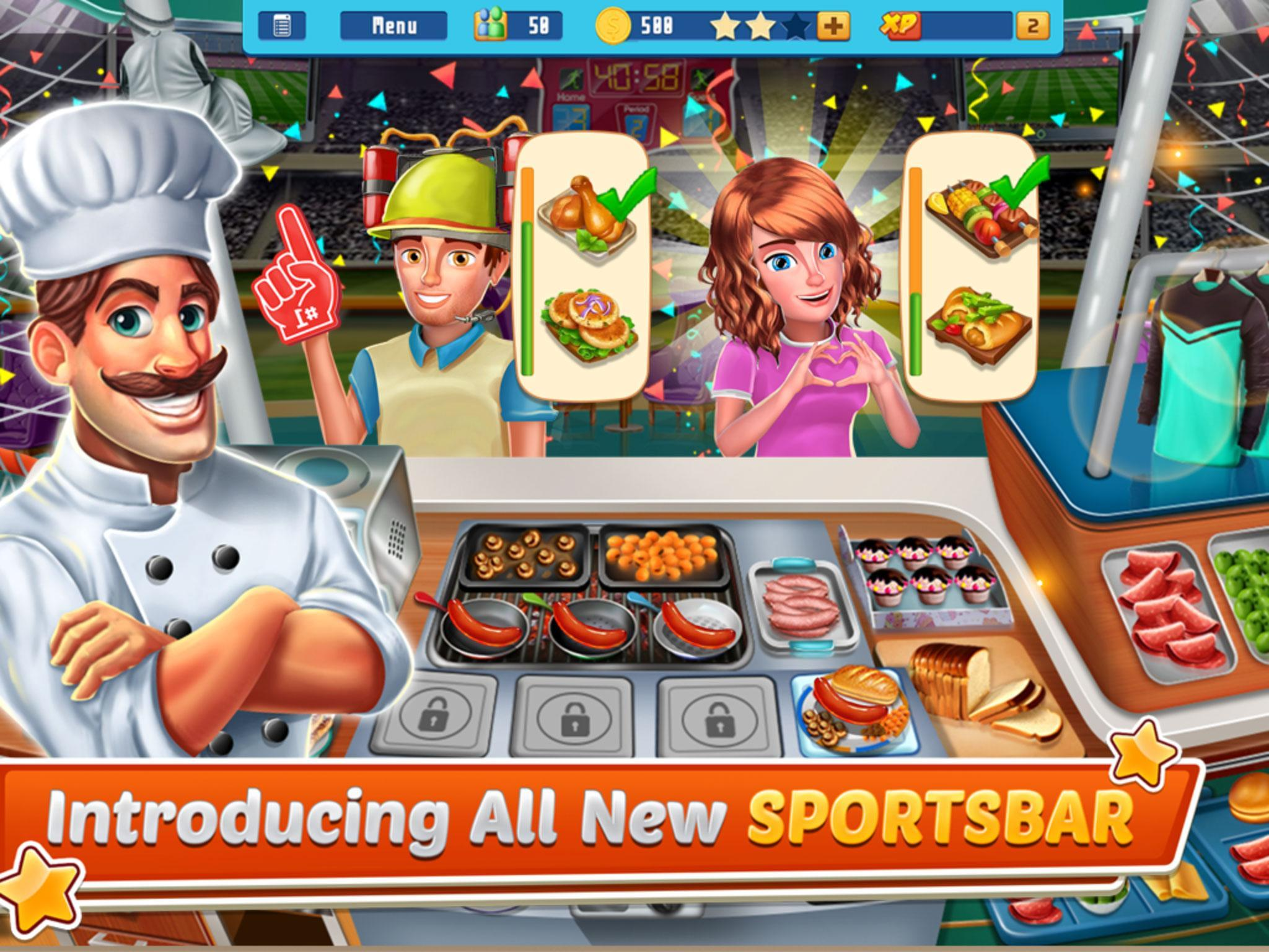 Chef's Life : Crazy Restaurant Kitchen 5.7 Screenshot 14