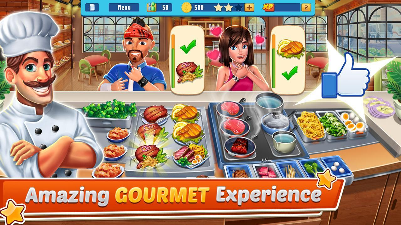 Chef's Life : Crazy Restaurant Kitchen 5.7 Screenshot 2