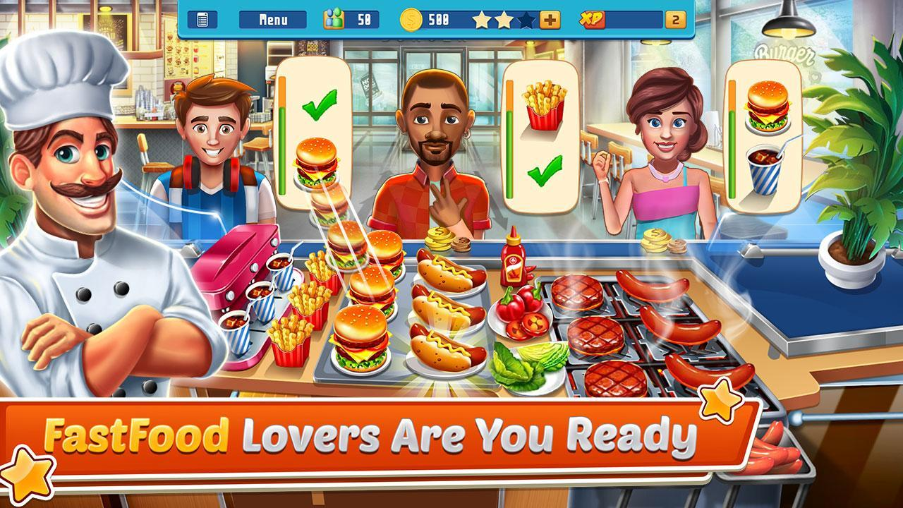 Chef's Life : Crazy Restaurant Kitchen 5.7 Screenshot 3