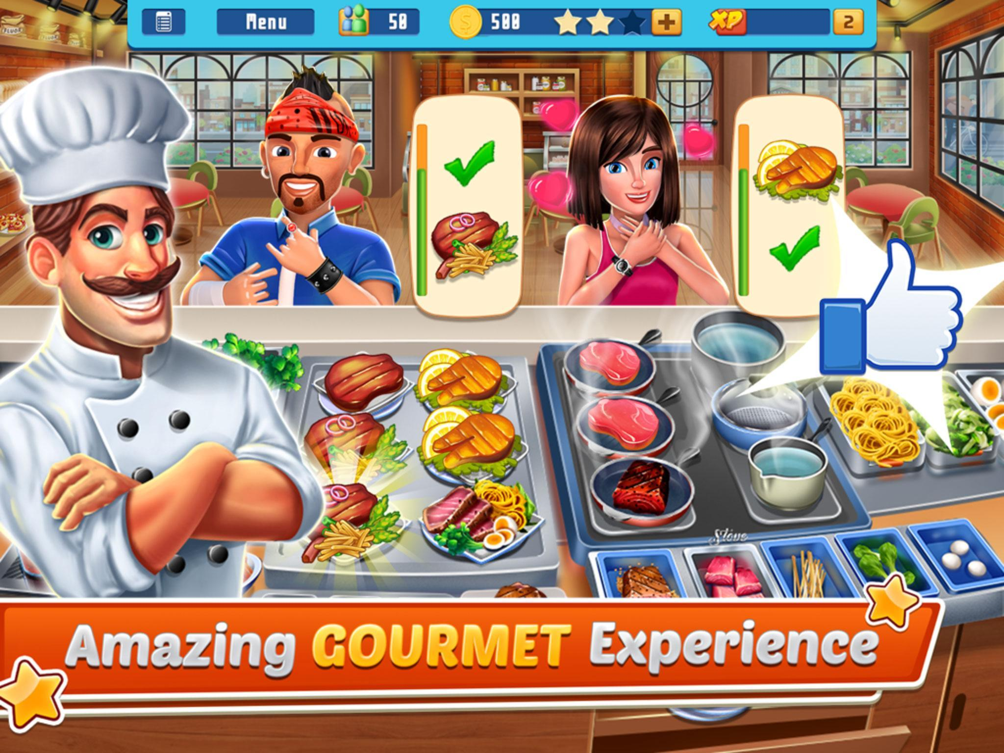 Chef's Life : Crazy Restaurant Kitchen 5.7 Screenshot 9