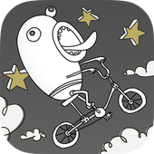 Doofus Drop Silly Rider - Learn to Fart & Fly app icon