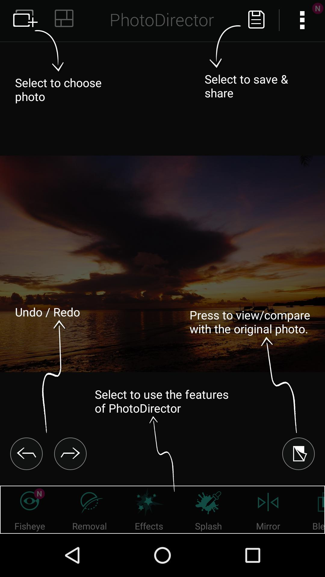 PhotoDirector –Photo Editor & Pic Collage Maker 9.1.5 Screenshot 16