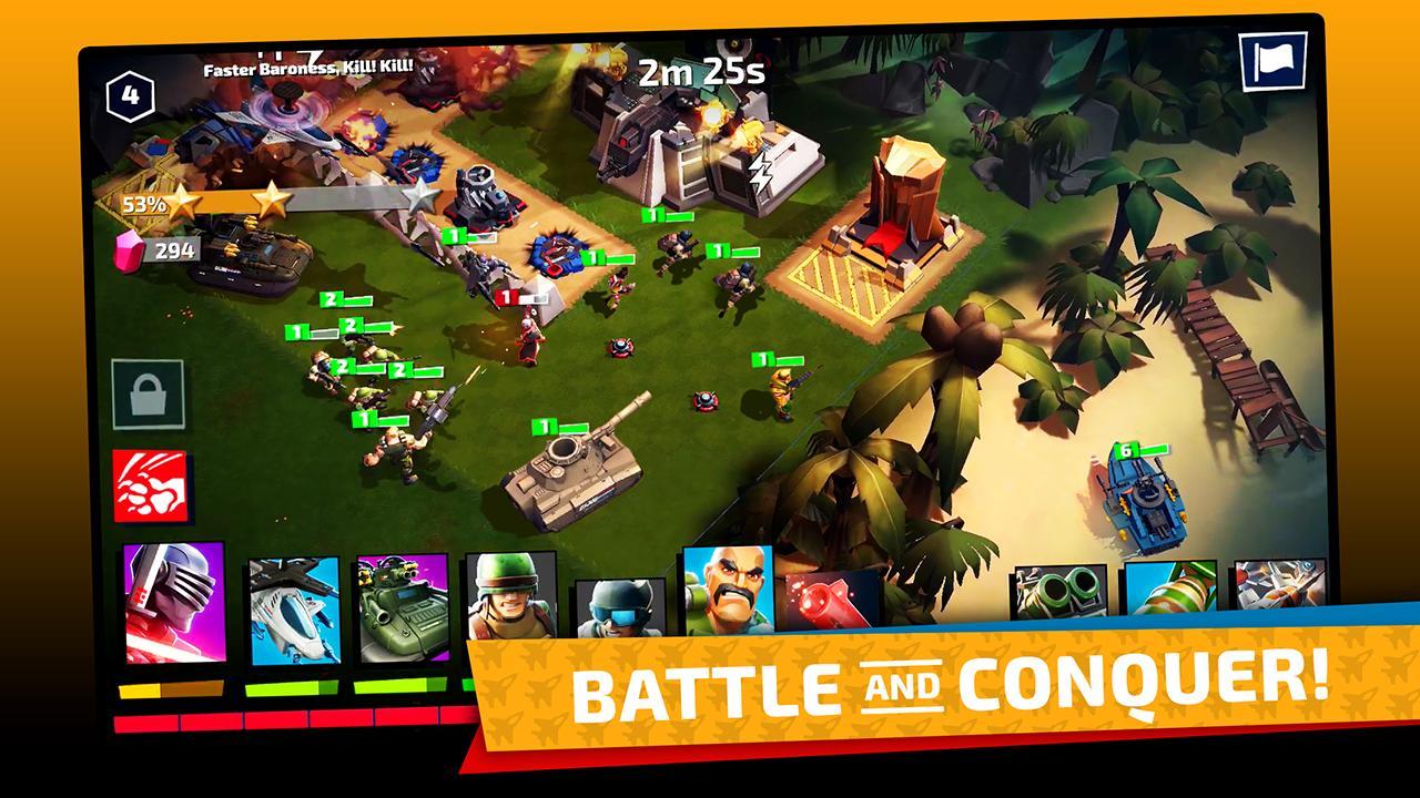 G.I. Joe War On Cobra 1.1.0 Screenshot 2