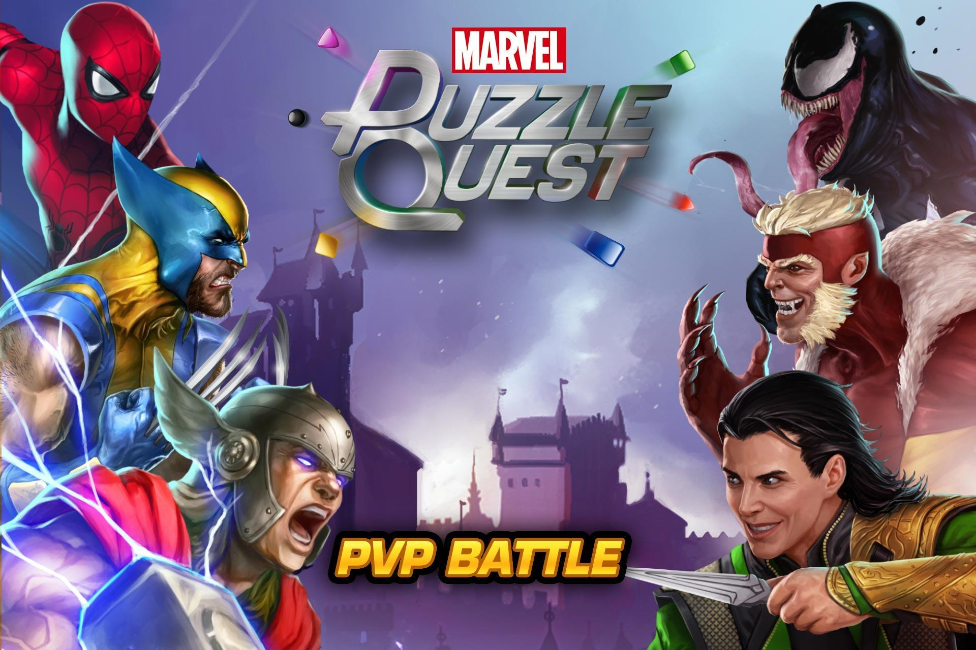 MARVEL Puzzle Quest: Join the Super Hero Battle! 193.510218 Screenshot 1