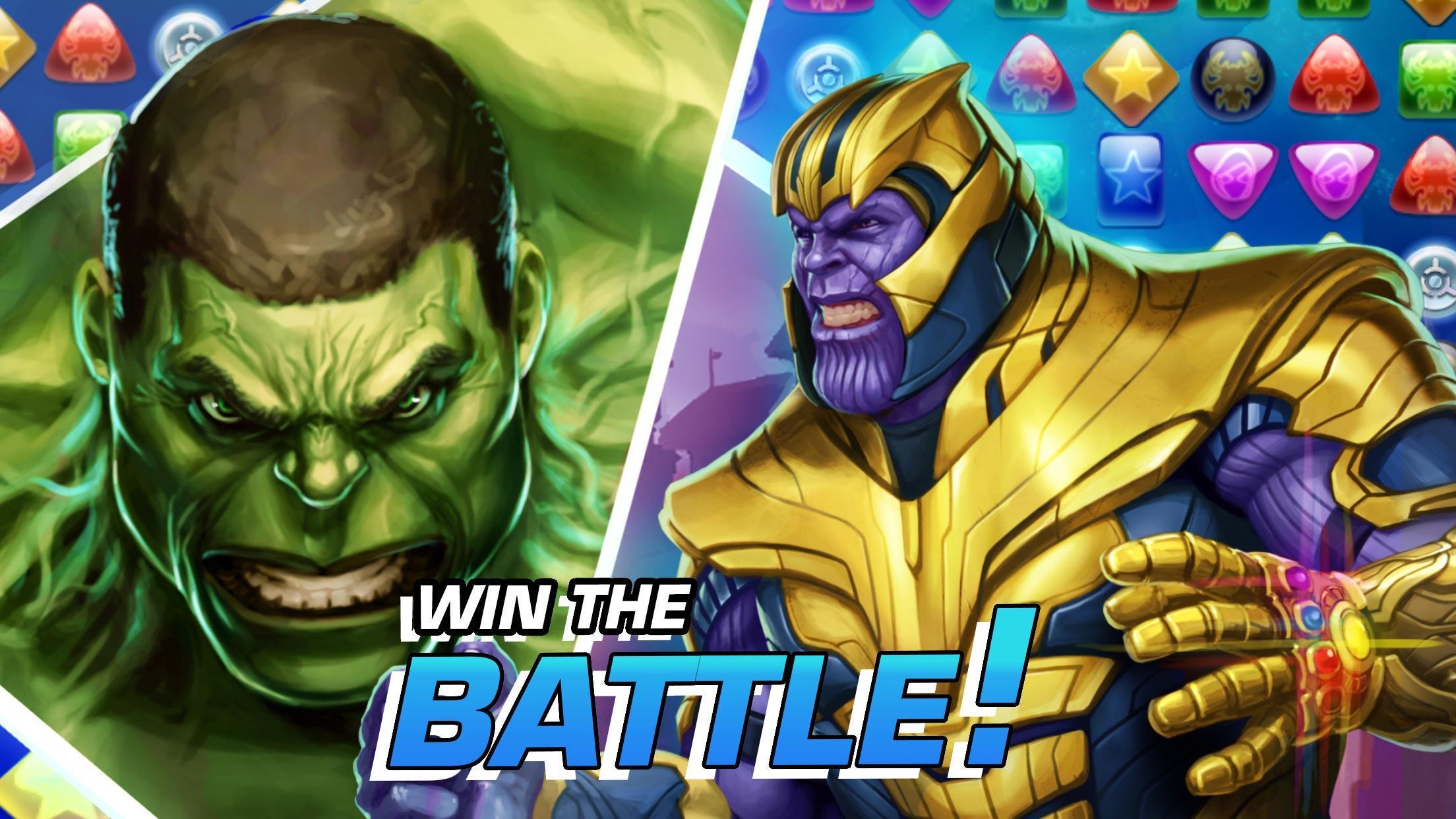 MARVEL Puzzle Quest: Join the Super Hero Battle! 193.510218 Screenshot 12