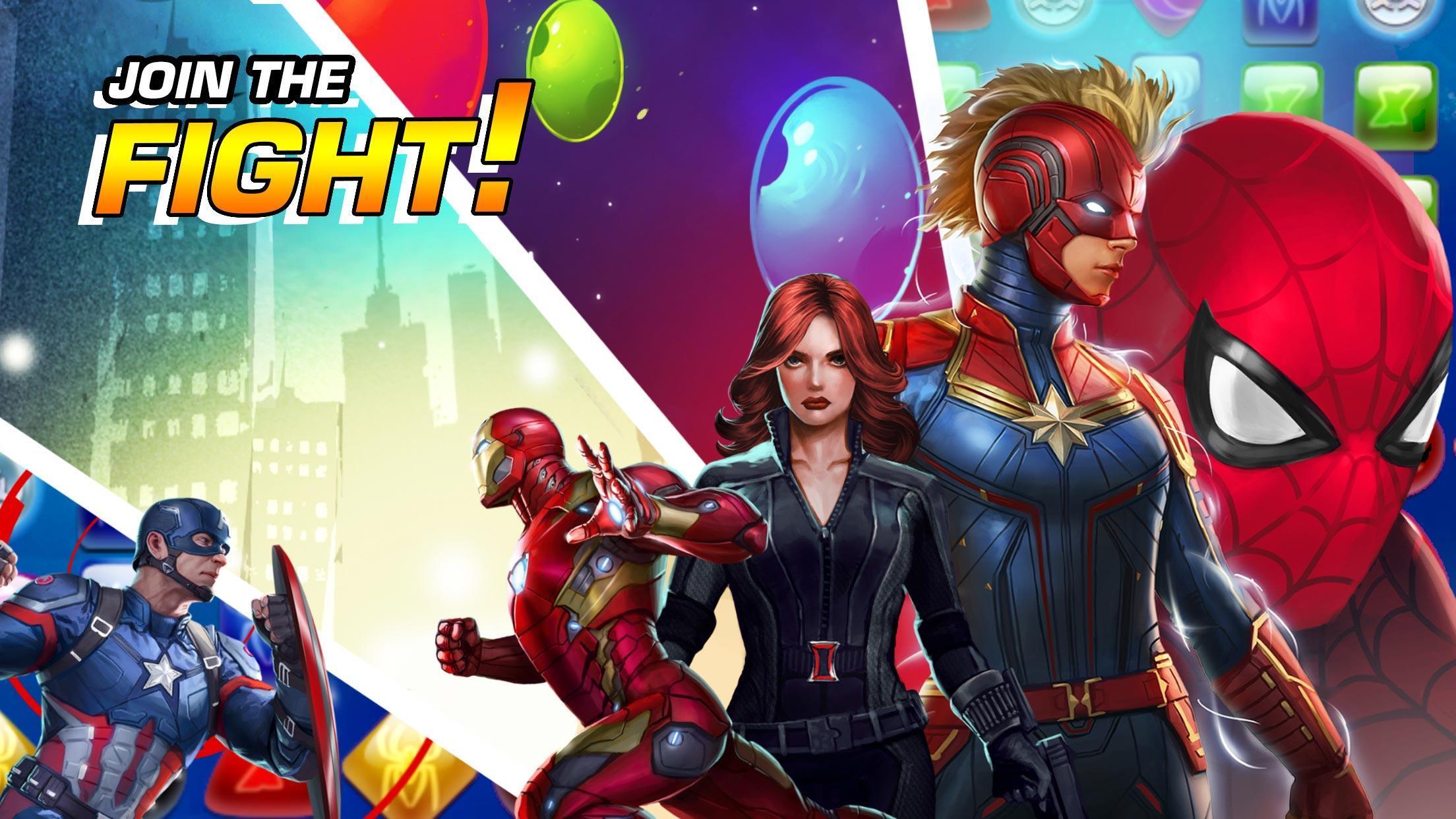 MARVEL Puzzle Quest: Join the Super Hero Battle! 193.510218 Screenshot 13