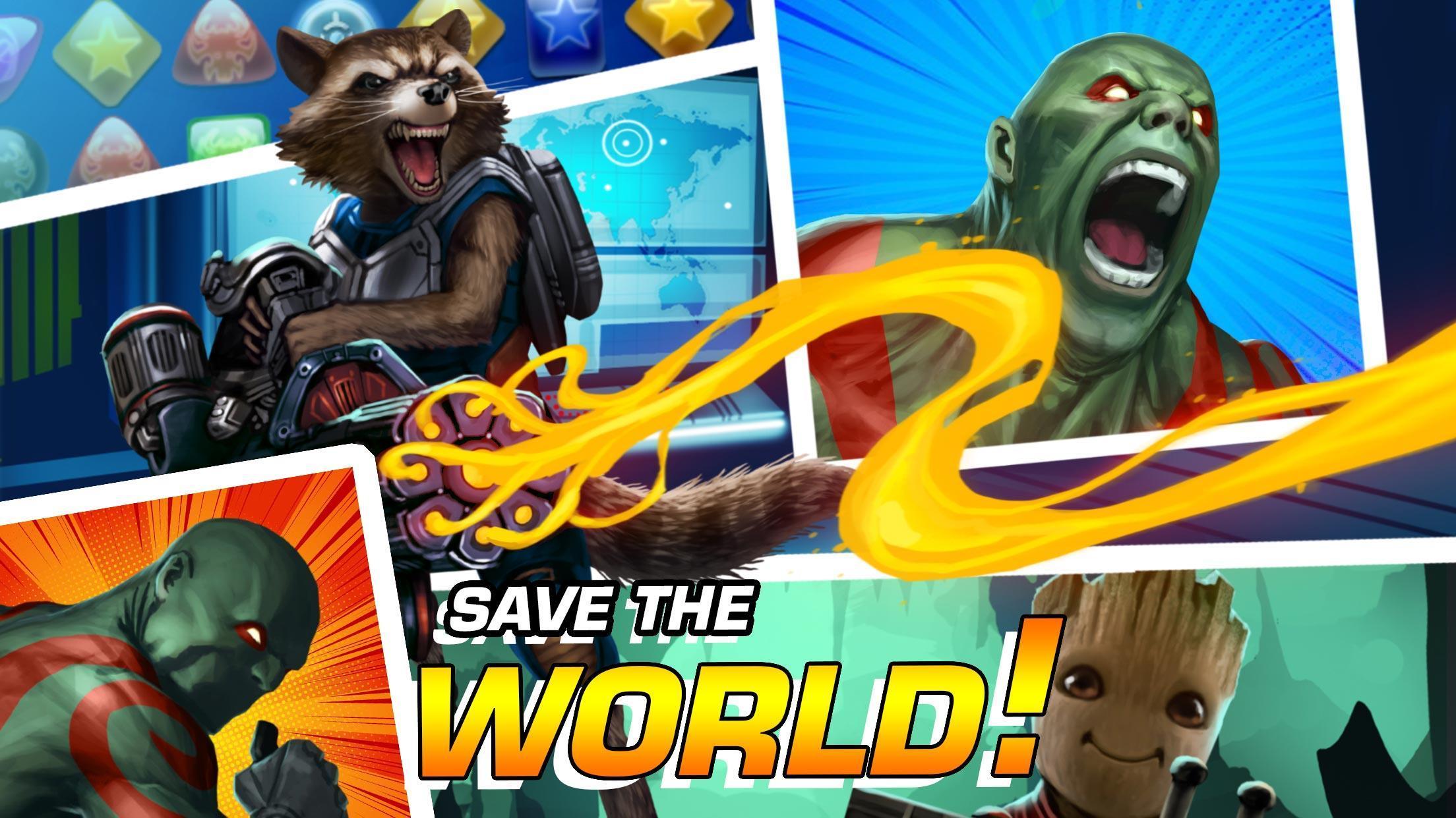 MARVEL Puzzle Quest: Join the Super Hero Battle! 193.510218 Screenshot 14