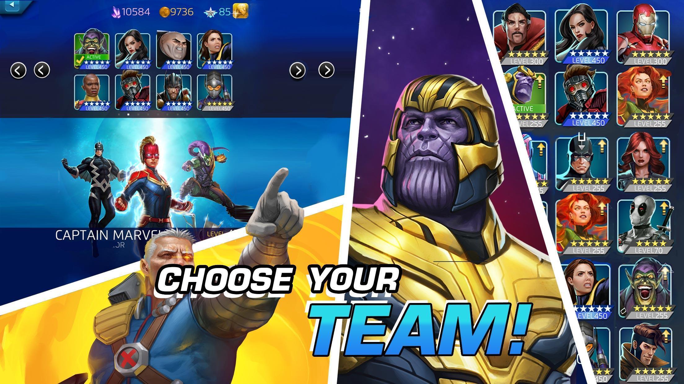 MARVEL Puzzle Quest: Join the Super Hero Battle! 193.510218 Screenshot 15