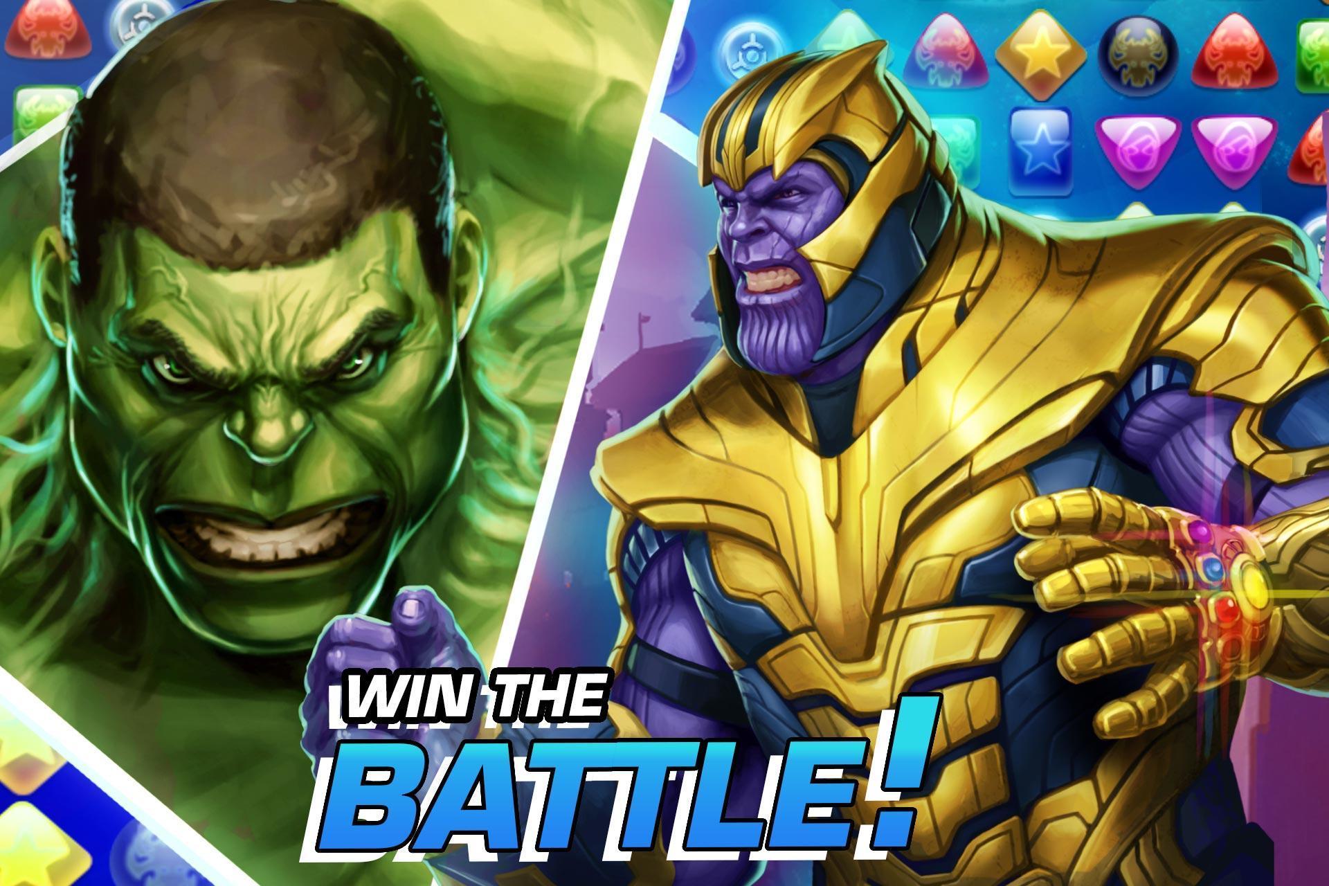 MARVEL Puzzle Quest: Join the Super Hero Battle! 193.510218 Screenshot 2