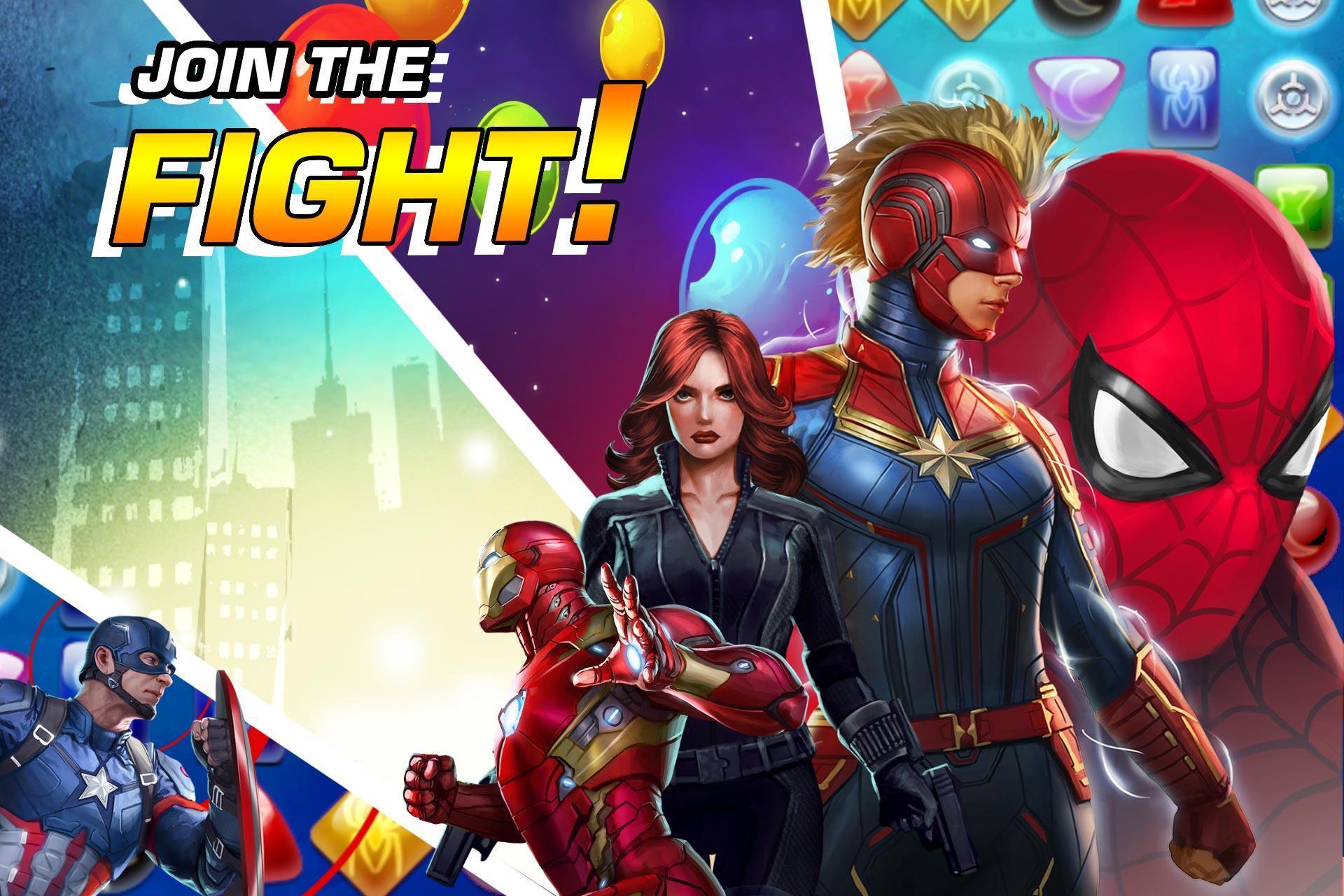 MARVEL Puzzle Quest: Join the Super Hero Battle! 193.510218 Screenshot 3