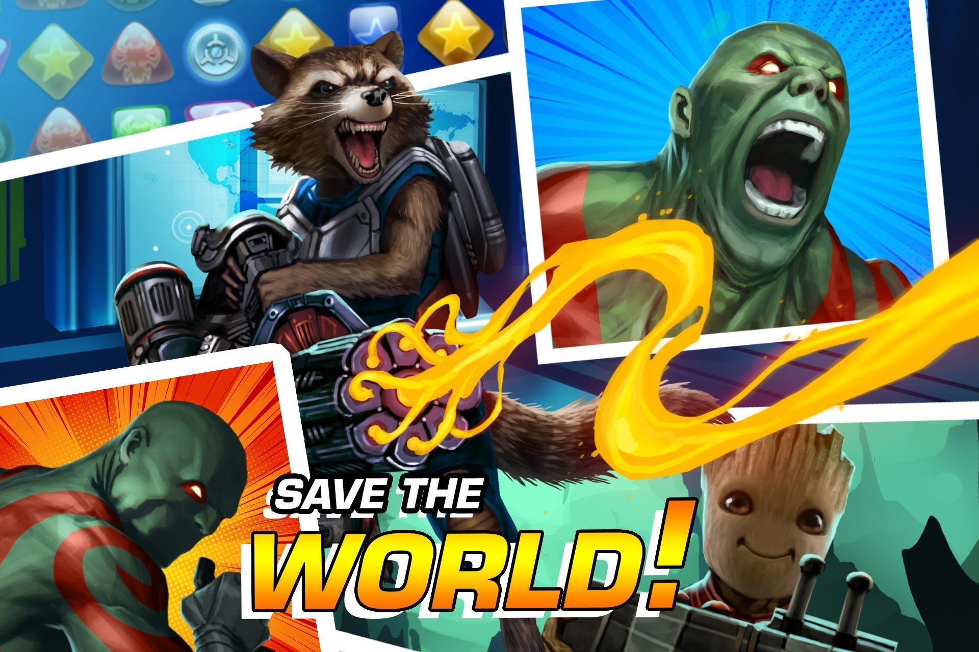 MARVEL Puzzle Quest: Join the Super Hero Battle! 193.510218 Screenshot 4