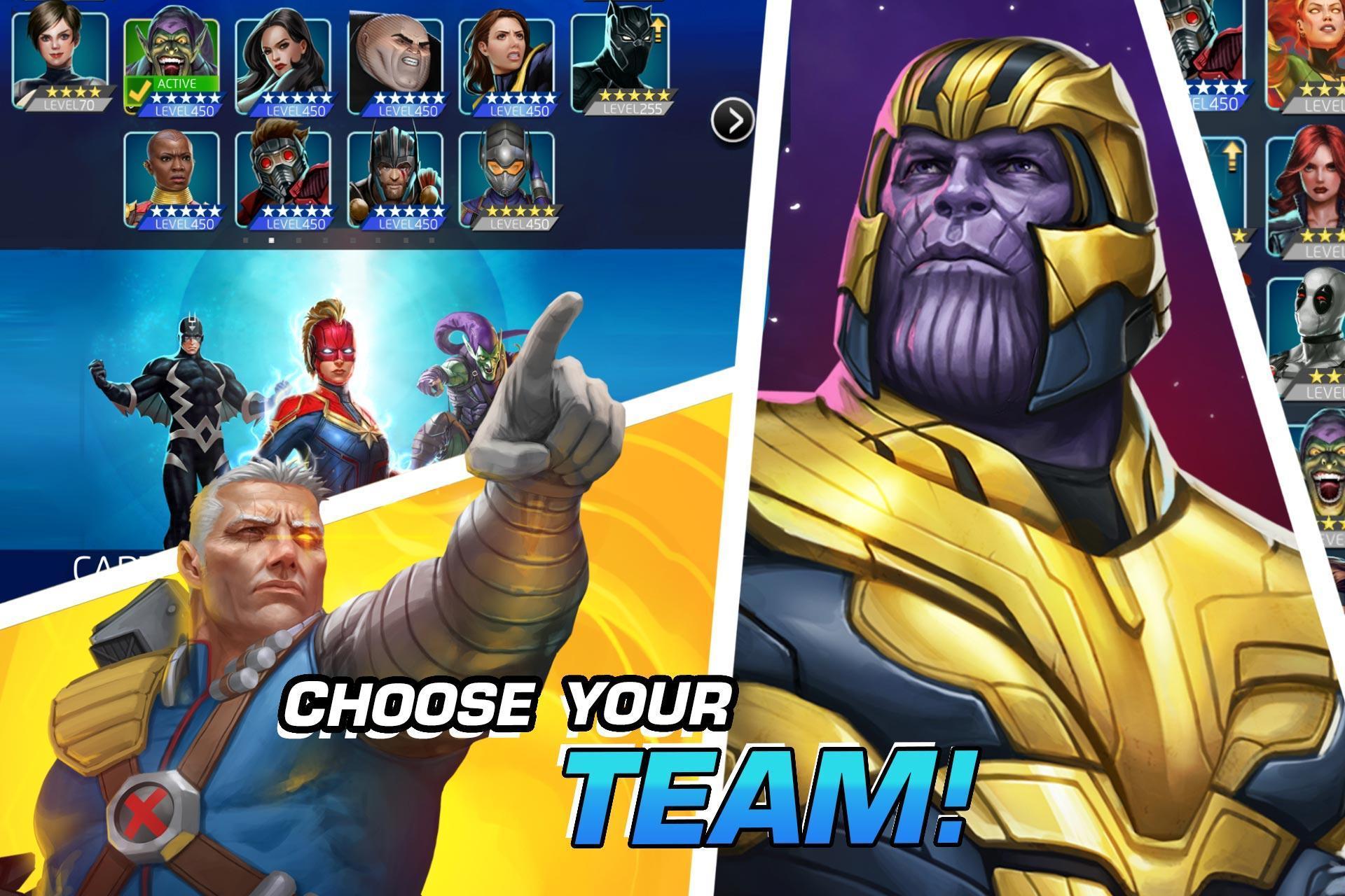 MARVEL Puzzle Quest: Join the Super Hero Battle! 193.510218 Screenshot 5