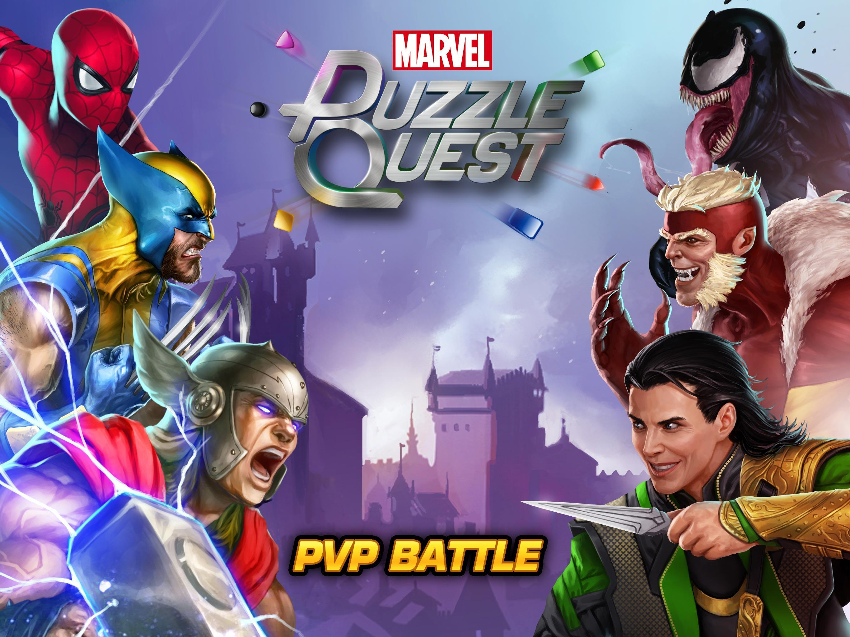MARVEL Puzzle Quest: Join the Super Hero Battle! 193.510218 Screenshot 6