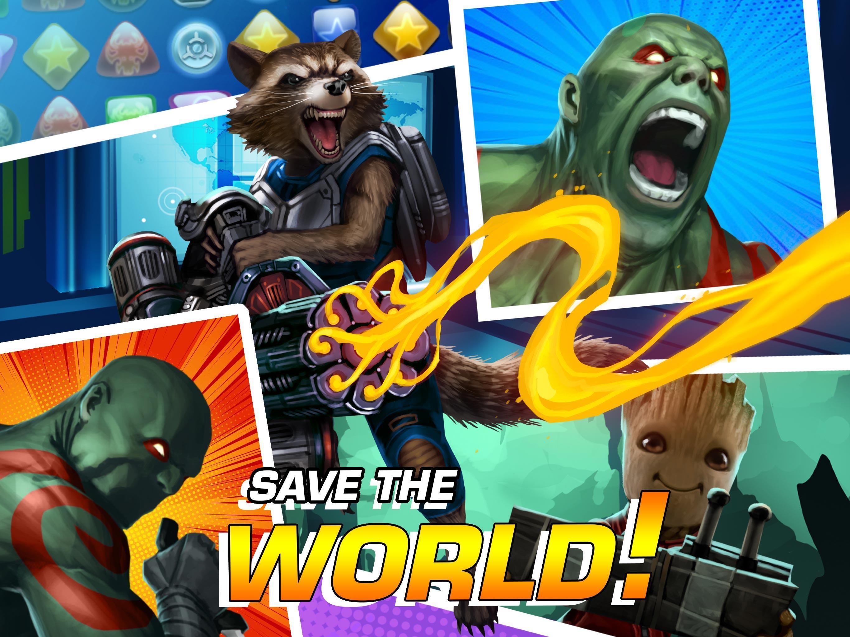 MARVEL Puzzle Quest: Join the Super Hero Battle! 193.510218 Screenshot 9