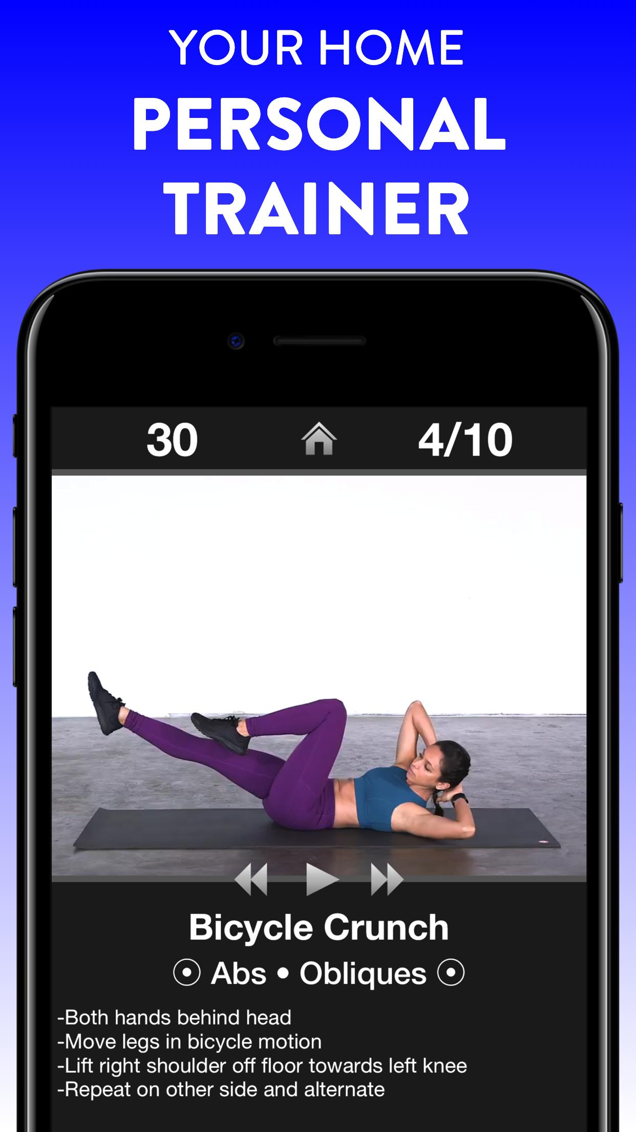 Daily Workouts - Exercise Fitness Workout Trainer 6.12 Screenshot 11