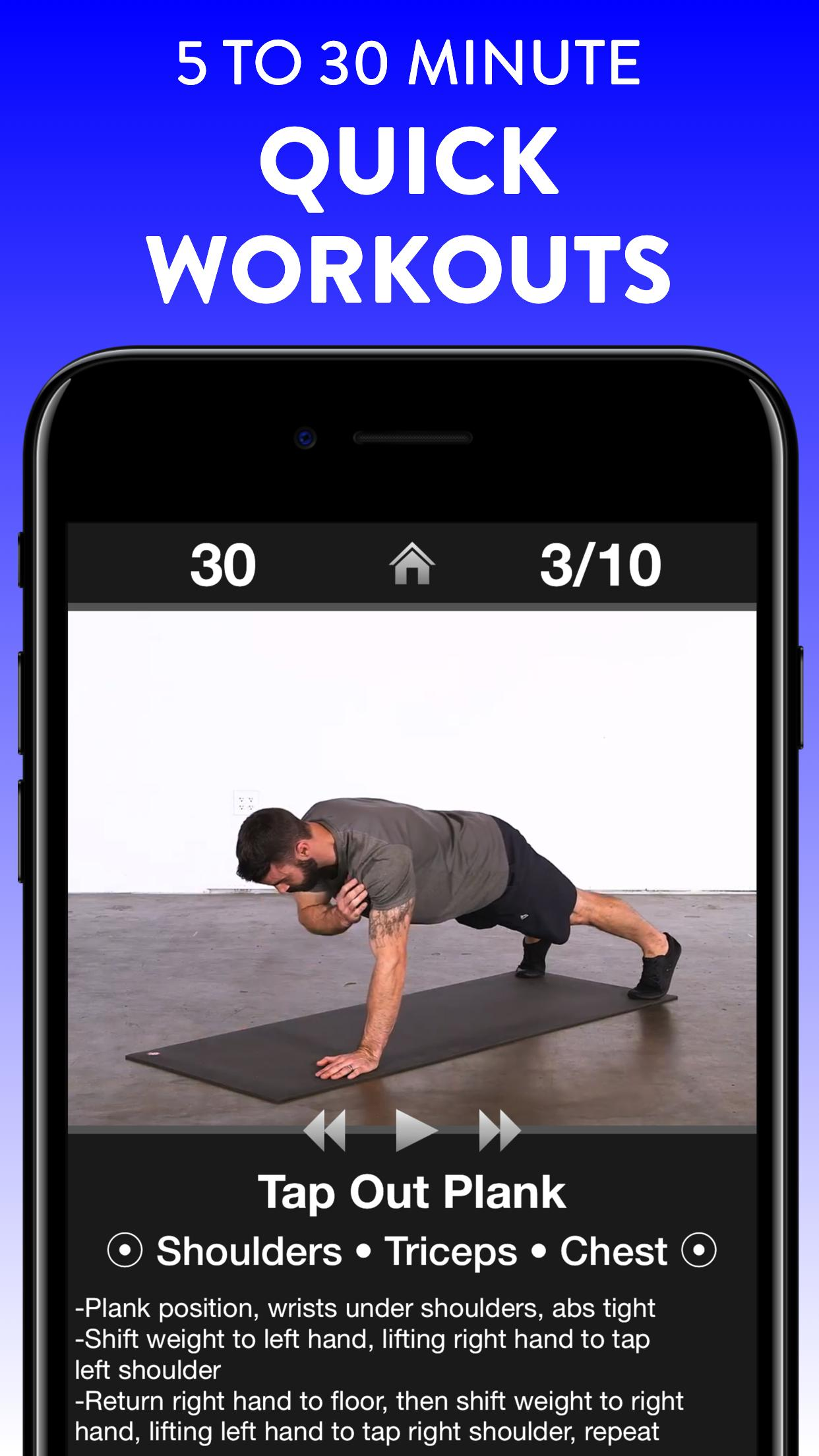 Daily Workouts - Exercise Fitness Workout Trainer 6.12 Screenshot 13