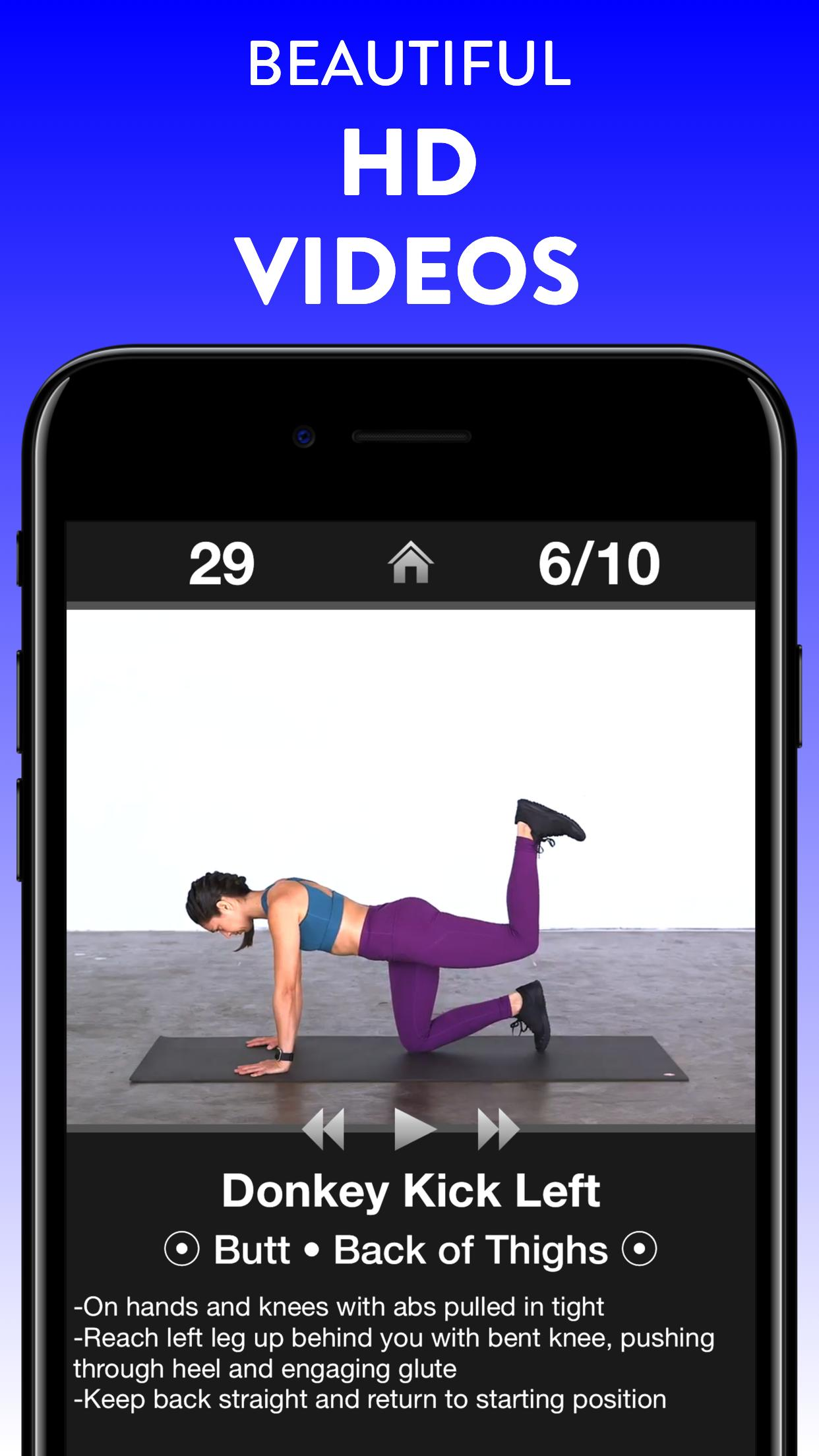 Daily Workouts - Exercise Fitness Workout Trainer 6.12 Screenshot 14