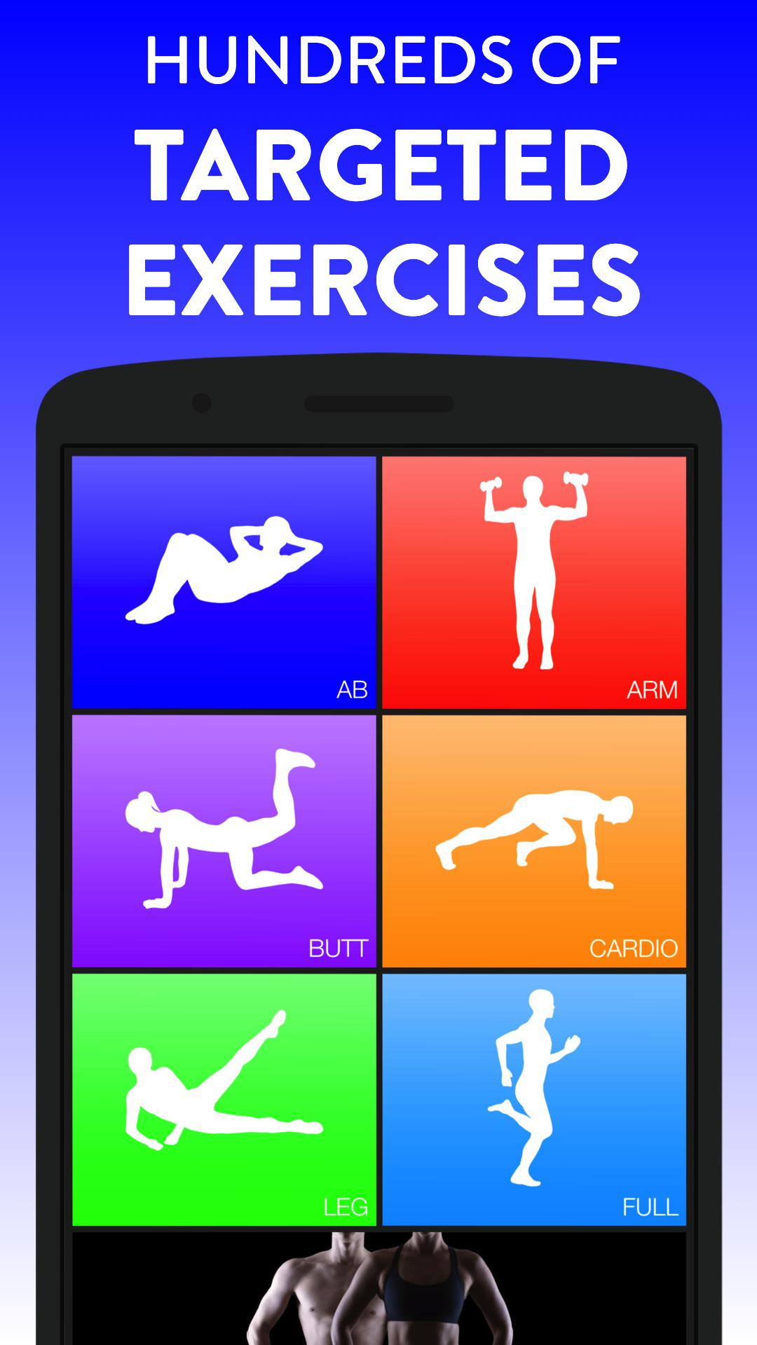 Daily Workouts - Exercise Fitness Workout Trainer 6.12 Screenshot 2