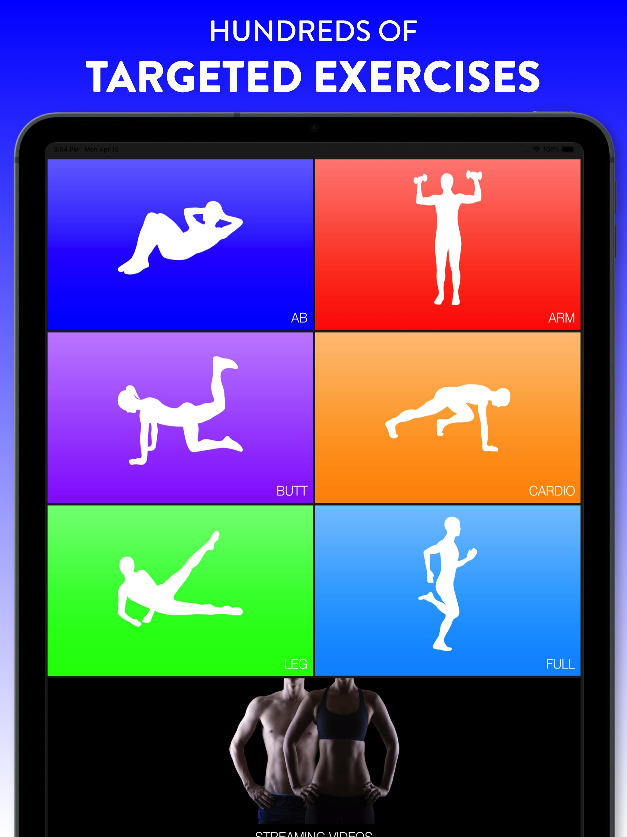 Daily Workouts - Exercise Fitness Workout Trainer 6.12 Screenshot 7