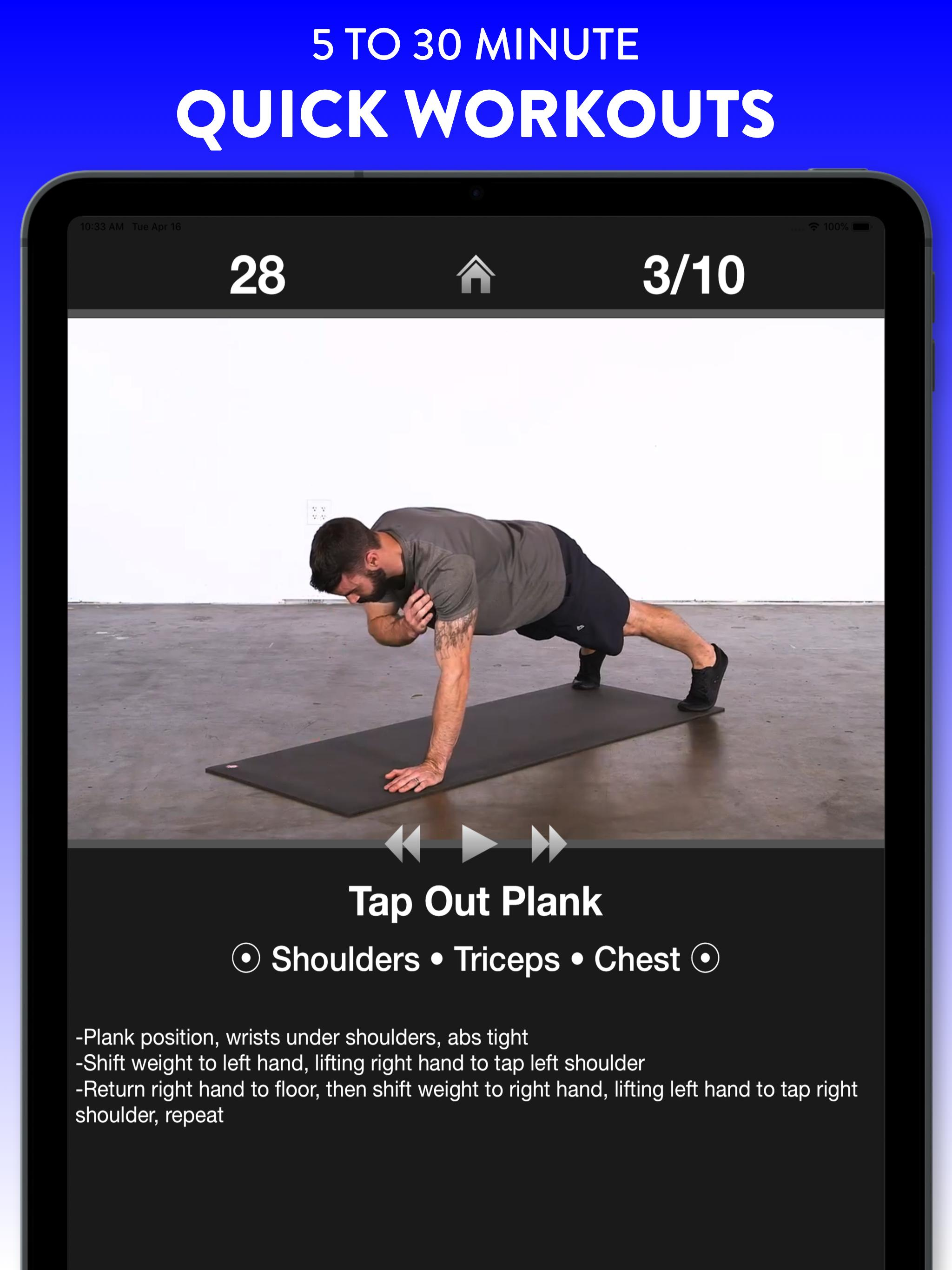 Daily Workouts - Exercise Fitness Workout Trainer 6.12 Screenshot 8