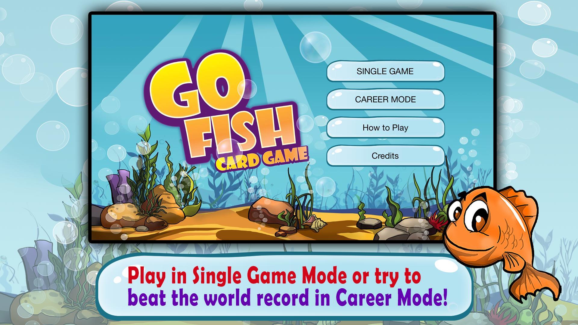 Go Fish Kids Card Game (Free) 1.22 Screenshot 1