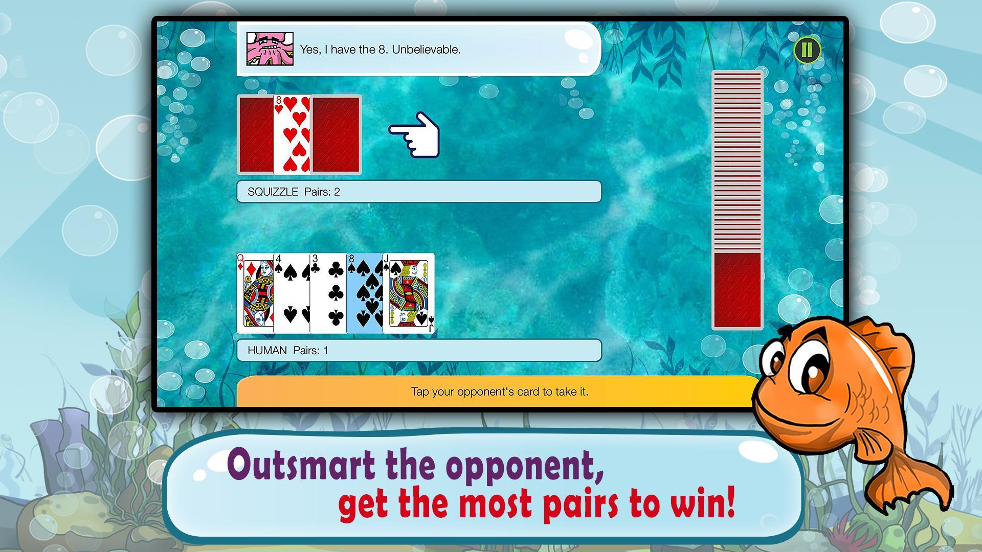 Go Fish Kids Card Game (Free) 1.22 Screenshot 2